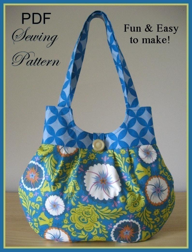 CLASSY CURVY ebook PDF Handbag Sewing Pattern / Sweet Pea image 0