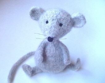 PATTERN PDF Crocheted and Felted Mouse Amigurumi Pattern