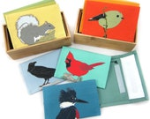 6-Pack of Canvas Bird + Wildlife Wallets | Get 1 FREE + FREE US Shipping | 36 Designs | birder nature outdoors vegan pouch coin purse
