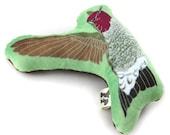 Hummingbird Plushie, Stuffie, Mini-Pillow, Super Soft, Baby Gift, Bird Lover Gift