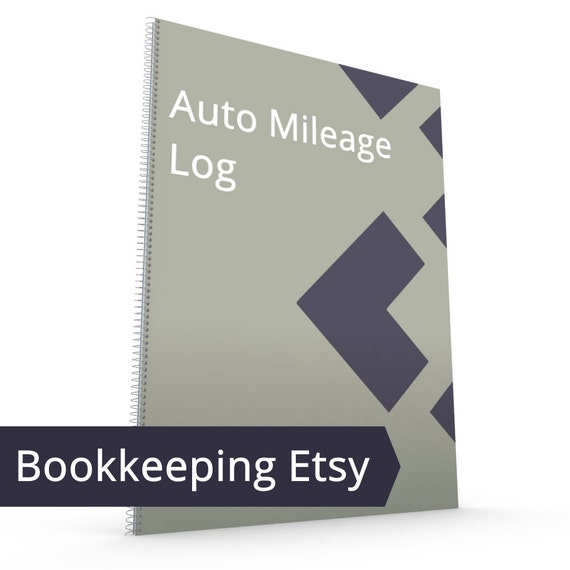 etsy auto mileage log mileage tracker vehicle auto car etsy