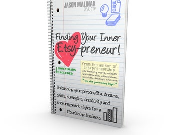 Finding Your Inner Etsy-preneur eBook - Personality Tests, Checkups Etsy Exercises Self-Assessment Dreams Strengths Creativity Encouragement