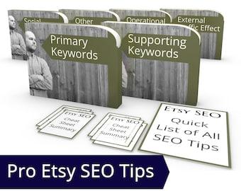 Etsy Search Engine Optimization Book - Etsy Rank, SEO eBook,  Etsy Search SEO Secrets, How to Increase Traffic to Etsy Shop SEO Guru Tagging