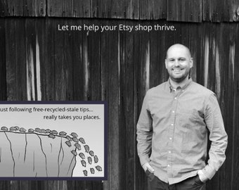 Jason Malinak's Etsypreneurship Thrive - How to Sell More on Etsy, Success on Etsy Improve Etsy Sales How To Boost Etsy Sales Best Practices