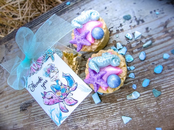 10 SEAHORSES--5x5--Birthday--Mermaid Theme--Nautical--Baby Shower--Seahorse Garland--Any Color--