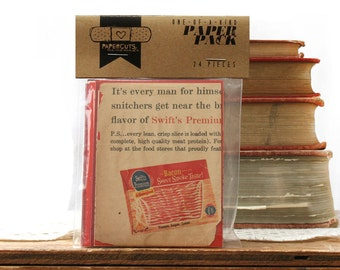 """One-of-a-Kind 3"""" x 4"""" PAPER pack - 24 pc. - RED"""
