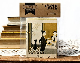 """One-of-a-Kind 3"""" x 4"""" PAPER pack - 24 pc. - YELLOW"""