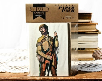 """One-of-a-Kind 3"""" x 4"""" PAPER pack - 24 pc. - BROWN"""