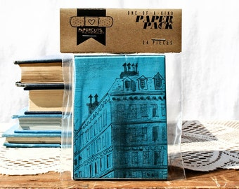 """One-of-a-Kind 3"""" x 4"""" PAPER pack - 24 pc. - BLUE"""