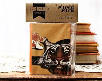 """One-of-a-Kind 3"""" x 4"""" PAPER pack - 24 pc. - ORANGE"""