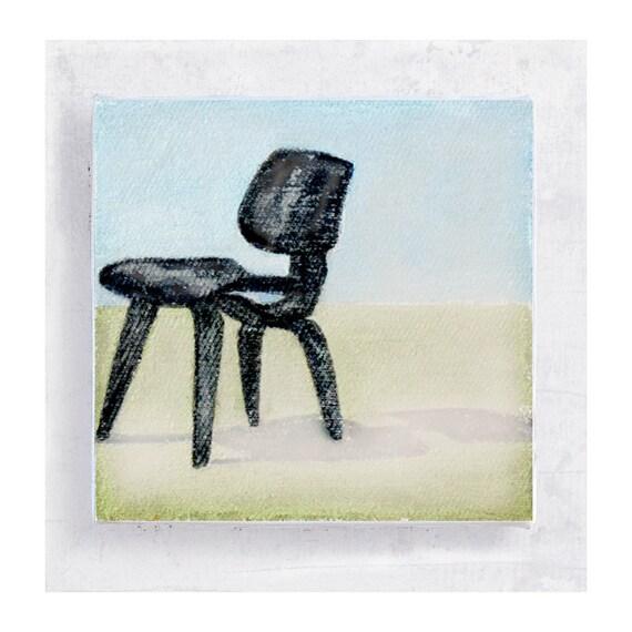 Stuhl Kunst Möbelkunst Eames Niedrigen Holz Stuhl   Etsy