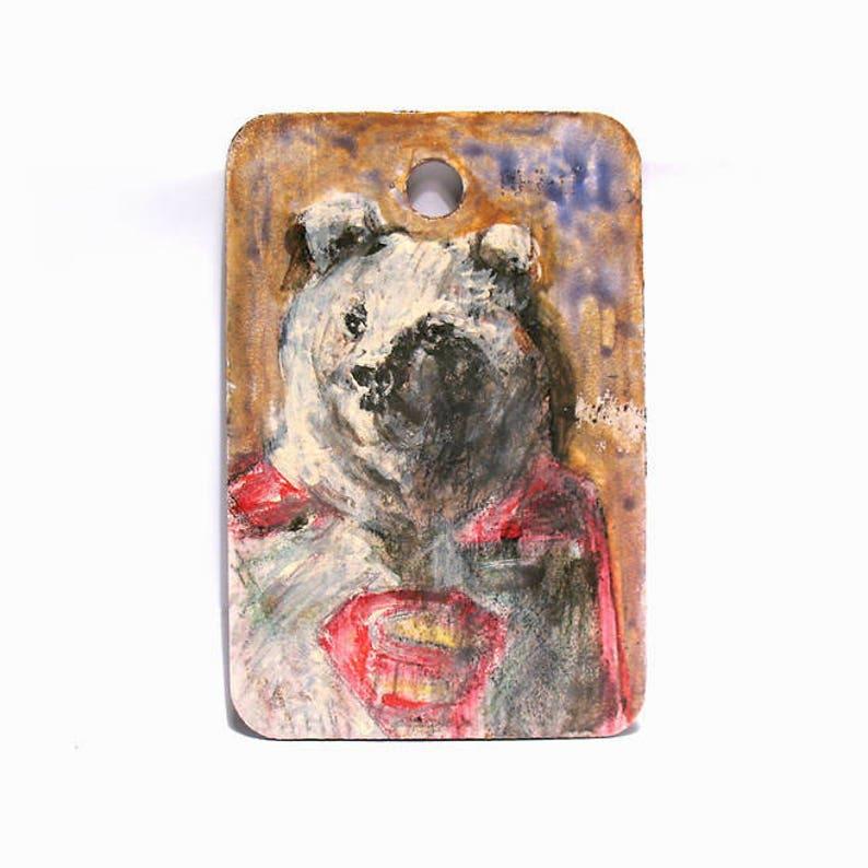 Bear Art   Animal Art  Superman/Superhero Art  Original image 0