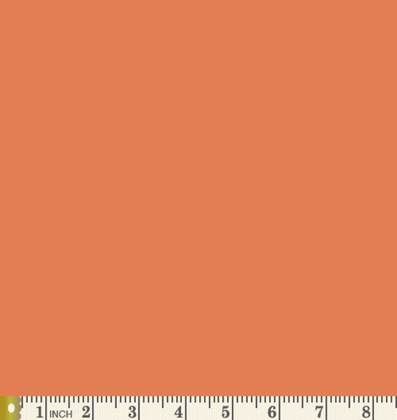 Dried Carrot PURE Solid Fabric by Art Gallery Fabrics AGF PE-457
