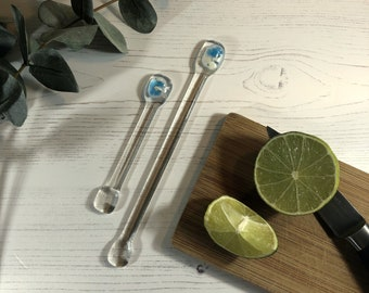 SWIZZLE STICK SILVER PLATED 1920s REPLICA NEW COCKTAIL STIRRER