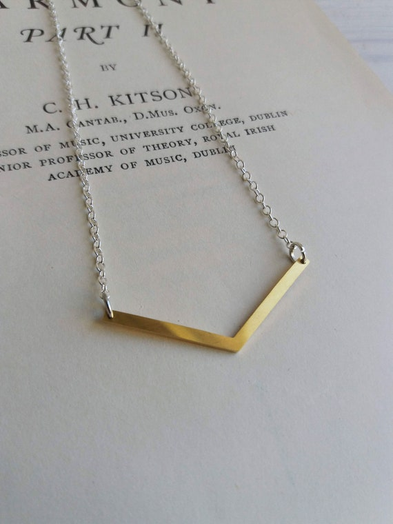 Plata Tono Oro Cadena Colgante Collar de estrella simple vendedor de Reino Unido