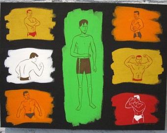 Painting - Envy ('Sin Alley' Series)