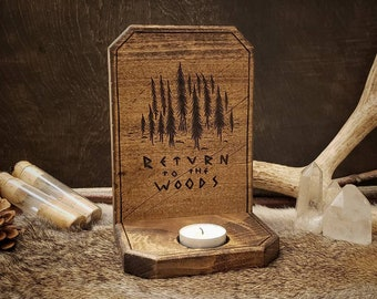 Candle Holder - Return to the Woods