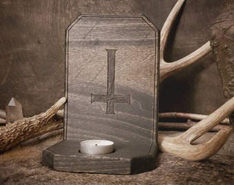 Candle Holder - Black Mass