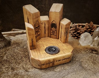 Woodland Campfire - Tabletop candle holder