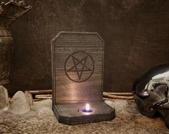 Candle Holder - Pentagram