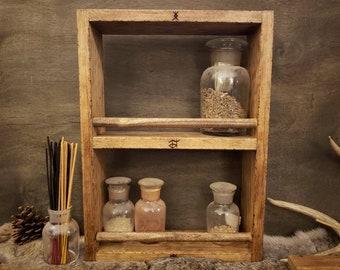 Apothecary Shelf / Altar Decor