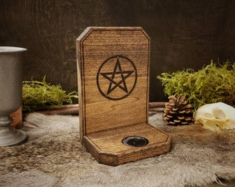 Candle Holder - Pentacle
