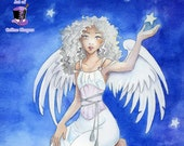 Stella: Angel art print
