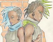 Cyberpunk Twins
