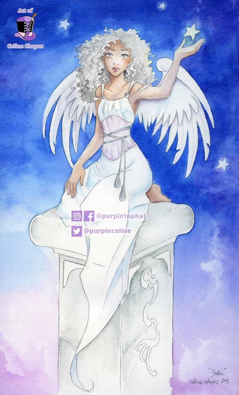 Stella: Angel art print image 0
