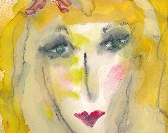 Lainey - original watercolor