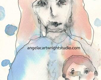 Susan - original watercolor