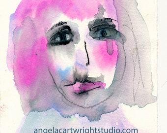 Gina - original watercolor