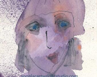 Brielle - original watercolor