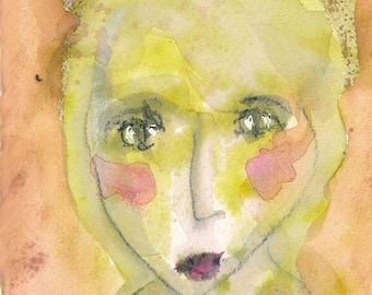 Wren - original watercolor