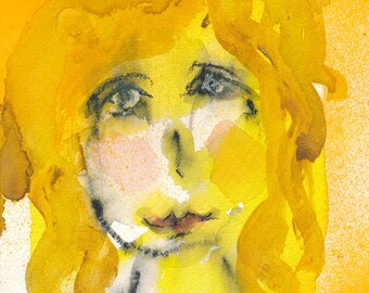 Remi - original watercolor