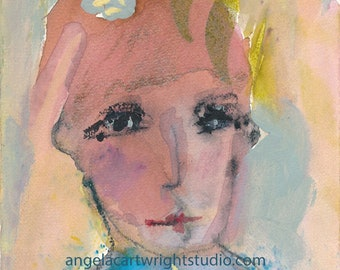 Amanda - original watercolor