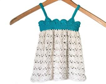 Baby Dress Crochet Pattern, Newborn Dress Crochet Pattern, Summer Dress Crochet Pattern, Baby Girl Outfit Crochet Pattern, 0-12 Months Dress