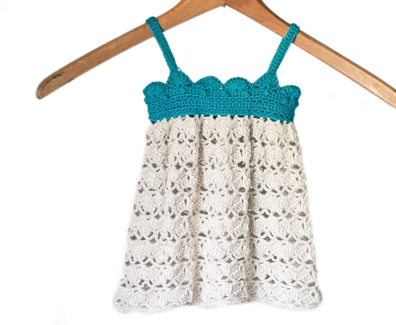 Baby Dress Crochet Pattern Newborn Dress Crochet Pattern image 1