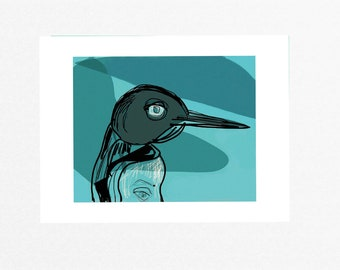 Penguin unframed giclée art print