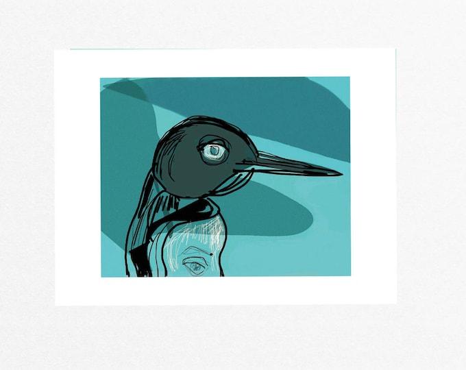 Penguin unframed giclée art print