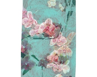 Orchids Tea Towel