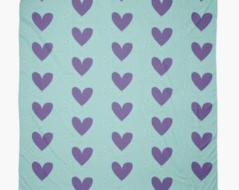 Heart kite scarf