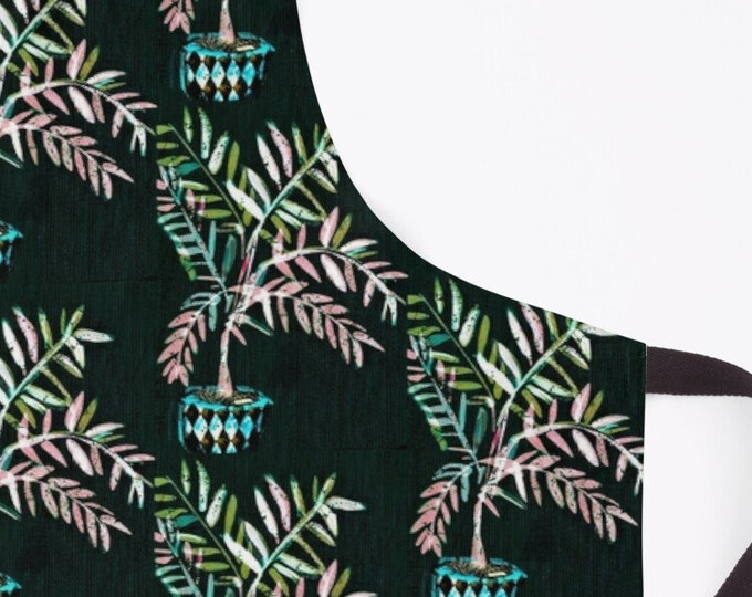 Black Palms Apron