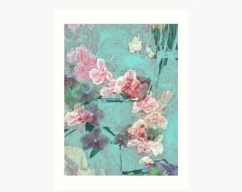 Orchids unframed art print