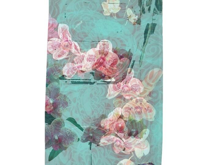 Orchids Tea Towel