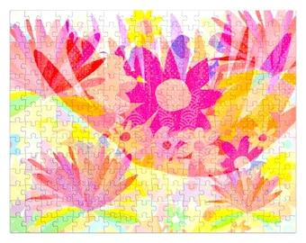 Sixties flower power Jigsaw Puzzle