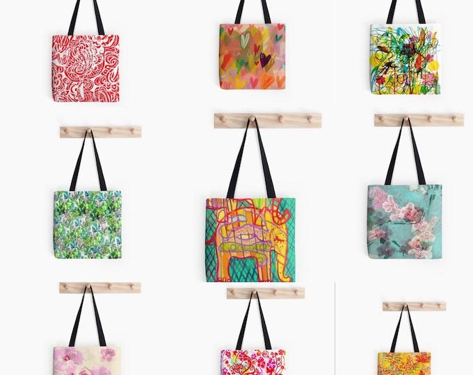 Tote bag grocery shopping bag beach bag