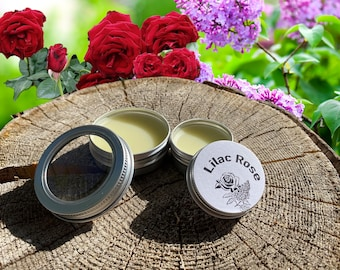 Organic Wildcrafted Lilac Rose Salve