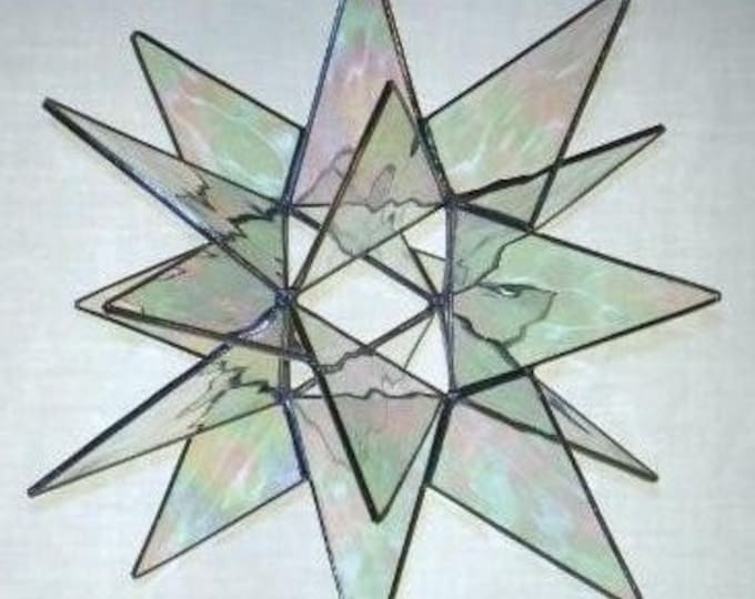 18 Point Moravain Star-Holiday-Bethlehem