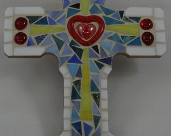 """Custom Mosaic Cross - 7"""" x 10"""""""